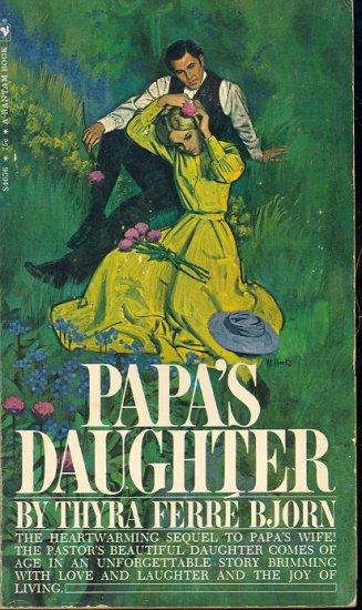 Papa's Daughter by Thyra Ferre Bjorn ~ Book 1970