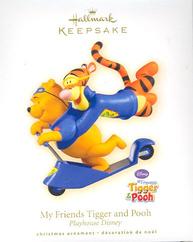 Hallmark Ornament ~ My Friends Tigger and Pooh ( Winnie the Pooh ) 2009