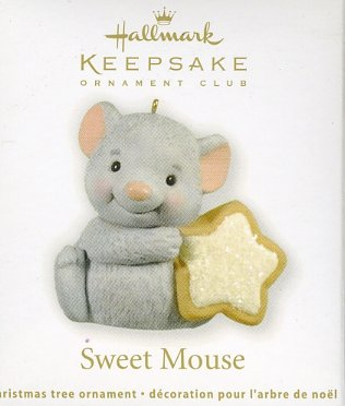 Hallmark Ornament ~ Sweet Mouse 2012