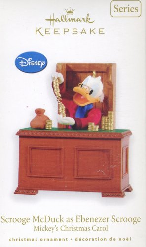 Hallmark Ornament ~ Scrooge McDuck as Ebeneazer Scrooge (Mickey's Christmas Carol) 2010