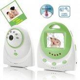 Baby Monitor - Two Way Audio, Temperature Alarm