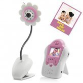 Baby Monitor (Night Vision, AV OUT, Flower Design)