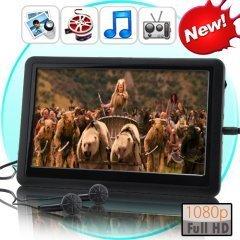7 Inch Full HD 1080p Handheld Multimedia Player (8GB)