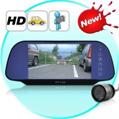 7 Inch High Definition Rearview Monitor and Rearview Camera