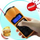 SuperTough - Contractor-grade Ultrasonic Distance Measurer with Laser Pointer