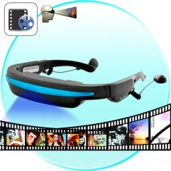 Mobile Theatre Video Glasses - Movies on 52 Inch Virtual Screen
