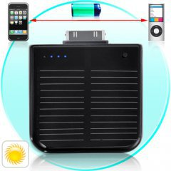 iPhone and iPod Portable Solar Battery Charger
