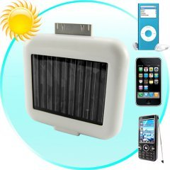 Solar Battery Chargers for iPhones, iPods, and USB Devices
