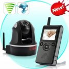Deluxe Wireless Baby Monitor (PTZ, Night Vision, H.264, 300 Meter Range)