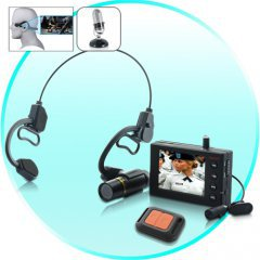 ActionCam - Head Mounted Sports Action Camera with 2.5 Inch LCD Screen