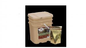 120 Serving Gourmet Seasoned Freeze Dried Meat Package