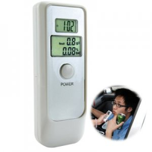 Breathalyzer Alcohol Tester - Dual LCD Display