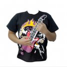 "Electric Rock Guitar T-Shirt ""Guitar Zero"""