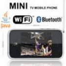 2.4'' Touch Screen WiFi+ Java+ TV+ 2-Sim Standby+ 4 Band mini Mobile Phone P05-V808