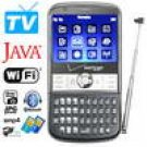 180 Degree Twist Base Design Full QWERTY Keypad WIFI TV Mobile Phone TV500
