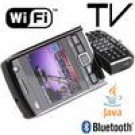 unlocked AT&T T-MOBILE cell phone wifi tv dual sim quad band e200 black