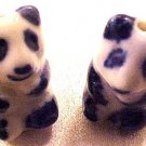Panda 6 Blue + White Porcelain Beads