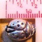 Ladybug Sterling Silver 2 Beads