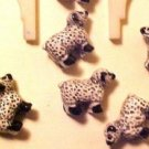 Sheep 5 Teeney Porcelain Beads