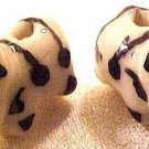 Cow 6 Porcelain Beads