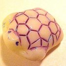 Turtle 2 Ivory Colored Glass Figural Buttons