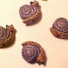 Snail Teeney 4 Clay Beads