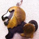 Lion Tiger Eye Gemstone Pendant
