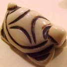 Turtle Carved Bone Dimensional Bead #1