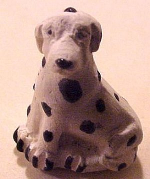 Dog Dalmation 3 Clay Beads