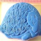 Turtle Cinnabar Blue Style Bead