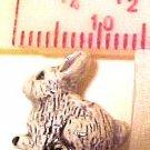 Rabbit Sitting 4 Pottery Beads