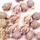 Turtle Sea 4 Pottery Teeney Pottery Beads