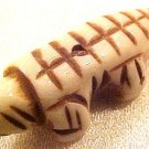 Lizard Dimensional Bone Bead