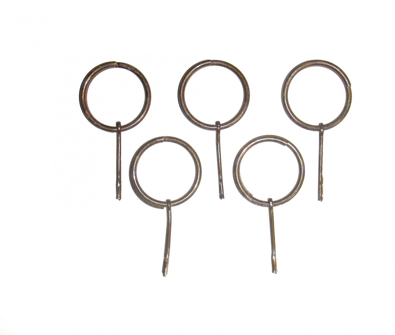 5 Hand Grenade Pins With Rings For Inert Dummy Hand