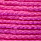 PARACORD 550 LB PARACHUTE CORD MIL SPEC TYPE III **WITH FREE BUCKLES* (PINK 100FT)
