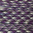 PARACORD 550 LB PARACHUTE CORD MIL SPEC TYPE III **WITH FREE BUCKLES* (PURPLE CAMO 100FT)