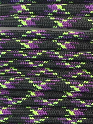 PARACORD 550 LB PARACHUTE CORD MIL SPEC TYPE III **WITH FREE BUCKLES** (UNDEAD 20FT)