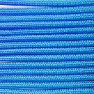 PARACORD 550 LB PARACHUTE CORD MIL SPEC TYPE III **WITH FREE BUCKLES** (BLUE 20FT)