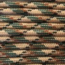 PARACORD 550 LB PARACHUTE CORD MIL SPEC TYPE III **WITH FREE BUCKLES** (CAMOUFLAGE 20FT)