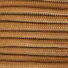 PARACORD 550 LB PARACHUTE CORD MIL SPEC TYPE III **WITH FREE BUCKLES** (COYOTE BROWN 20FT)