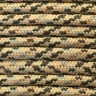 PARACORD 550 LB PARACHUTE CORD MIL SPEC TYPE III **WITH FREE BUCKLES** (DESERT CAMO 20FT)