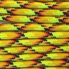 PARACORD 550 LB PARACHUTE CORD MIL SPEC TYPE III **WITH FREE BUCKLES** (EXPLODE 20FT)