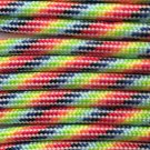 PARACORD 550 LB PARACHUTE CORD MIL SPEC TYPE III **WITH FREE BUCKLES** (LIGHT STRIPES 20FT)