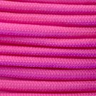 PARACORD 550 LB PARACHUTE CORD MIL SPEC TYPE III **WITH FREE BUCKLES** (PINK 20FT)
