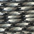 PARACORD 550 LB PARACHUTE CORD MIL SPEC TYPE III **WITH FREE BUCKLES** (URBAN CAMO 20FT)