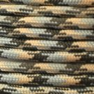 PARACORD 550 LB PARACHUTE CORD MIL SPEC TYPE III **WITH FREE BUCKLES** (ACU 50FT)