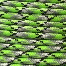PARACORD 550 LB PARACHUTE CORD MIL SPEC TYPE III **WITH FREE BUCKLES** (BIOSLUDGE 50FT)