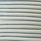 PARACORD 550 LB PARACHUTE CORD MIL SPEC TYPE III **WITH FREE BUCKLES** (GREY 50FT)