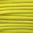 PARACORD 550 LB PARACHUTE CORD MIL SPEC TYPE III **WITH FREE BUCKLES** (NEON YELLOW 50FT)