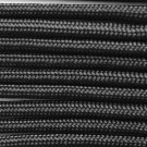 """""""PARACORD 550 LB PARACHUTE CORD MIL SPEC TYPE III **WITH FREE BUCKLES** (BLACK, 50 ft)"""""""